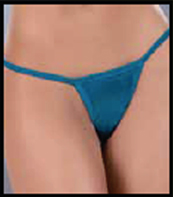 Blue Thong by Espiral Lingerie