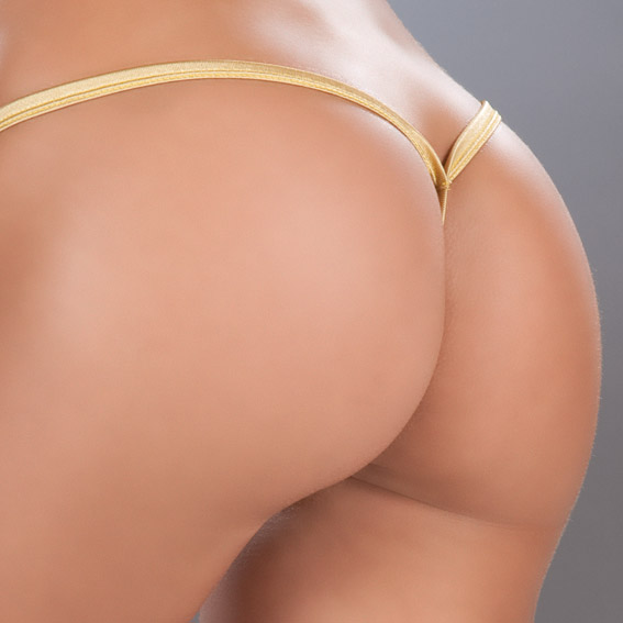 Back view of g-string.