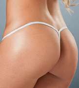 Silver G-String by Espiral Lingerie